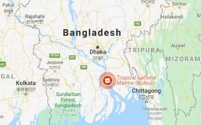 سمندری طوفان بلبل سےبنگلہ دیش اور بھارت میں تباہی،15افرادہلاک