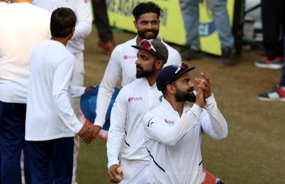 بھارت نے پہلے ٹیسٹ میچ میں بنگلہ دیش کو ایک اننگز اور 130 رنز سے شکست دیدی