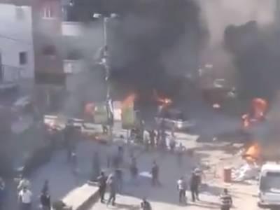 ترکی کے زیر انتظام شامی شہر میں کار بم دھماکا، 18 افراد ہلاک، 33 زخمی