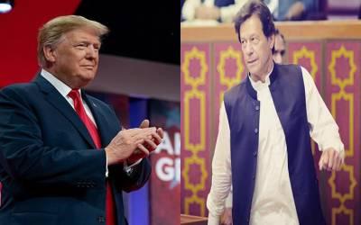 وزیر اعظم عمران اور ٹرمپ میں ٹیلی فونک رابطہ ، پاکستان کی سہولت کار ی پر ٹرمپ کا اظہار تشکر