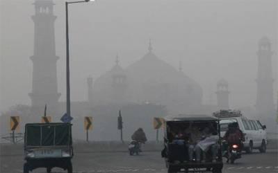 لاہور میں سموگ کی شدت میں کمی کیلئے مصنوعی بارش کی تجویز،35 کروڑ خرچ ہونگے