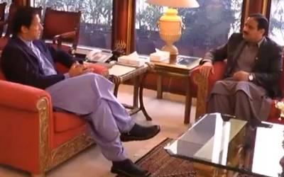وزیراعظم عمران خان سے وزیراعلیٰ پنجاب کی اہم ملاقات