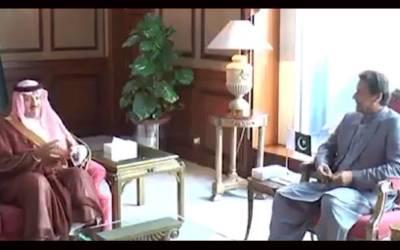 وزیراعظم عمران خان سے سعودی شہزادے کی ملاقات،اسلامو فوبیا،پاک سعودی تعلقات پر گفتگو