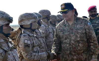 پاک فوج کا سپاہی اور جرنیل، پاکستان کو درپیش کسی بھی خطرے اور چیلنج سے نمٹنے کیلئے تیار ہے: آرمی چیف