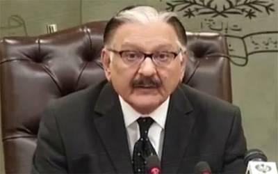 چیف الیکشن کمشنر پاکستان جسٹس (ر) سردار رضا خان عہدے سے سبکدوش