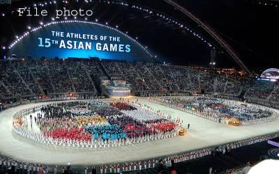 پاکستان کو ساﺅتھ ایشین گیمز کی میزبانی مل گئی،صدرپی او اے گیمز کی میزبانی کا پرچم وصول کرنے کھٹمنڈوروانہ