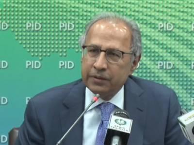 حکومت ملک کو درپیش اقتصادی مسائل کے حل کیلئے ٹھوس کوششیں کررہی ہے:ڈاکٹر حفیظ شیخ