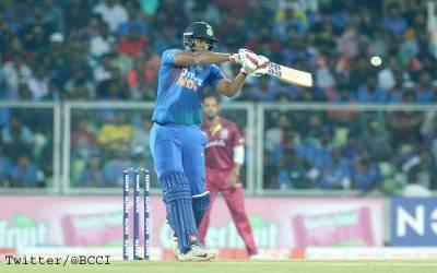 دوسرا ٹی 20، بھارت نے ویسٹ انڈیز کو جیت کیلئے ہدف دے دیا
