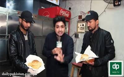 پاکستان کا سب سے بڑ ابرگر 1منٹ میں کھانے کا مقابلہ