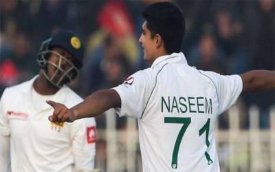 سری لنکا کے خلاف ڈیبیو ٹیسٹ میچ کے پہلے روز دو وکٹیں لینے والے باولر نسیم شاہ کابیان سامنے آگیا
