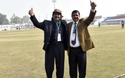 راولپنڈی ٹیسٹ میچ میں مہمان خصوصی کون ہے؟