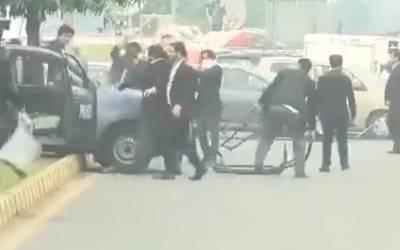 پی آئی سی پر حملہ، وکلا میں شامل وزیراعظم کے بھانجے کا موقف بھی سامنے آگیا