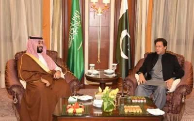 وزیر اعظم عمران خان کی سعودی ولی عہد شہزادہ محمد بن سلمان سے ملاقات، دوطرفہ تعلقات پر تبادلہ خیال