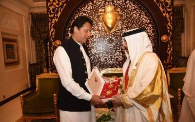 وزیر اعظم عمران خان کو بحرین کا اعلیٰ ترین سول اعزاز دیدیا گیا