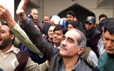 پیراگون ہاﺅسنگ سکینڈل کیس،کمرہ عدالت میں سادہ لباس میں ملبوس اہلکاروں سے خواجہ سعد رفیق کی تلخ کلامی