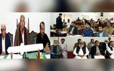 نئی سالانہ ترقیاتی سکیموں میں ضلع کے تمام ممبران کو برابری کی بنیاد پر سکیمیں دی جائیں گی: ڈاکٹر سید نور علی شاہ