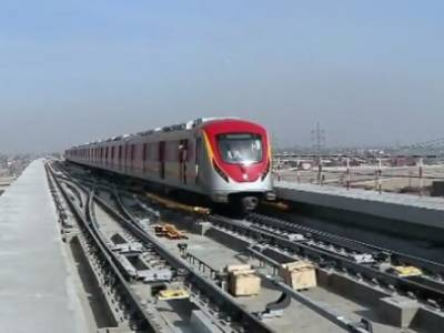 اورنج لائن میٹرو ٹرین کے پیکیج ٹو میں ناقص میٹریل استعمال ہونے کا انکشاف