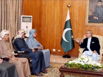 پاکستان متحدہ عرب امارات کیساتھ دوطرفہ تعاون کو مزید مضبوط بنانا چاہتا ہے:ڈاکٹر عارف علوی