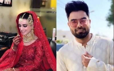 اقرا عزیز اور یاسر حسین رشتہ ازدواج میں منسلک ہو گئے ،تصاویر سوشل میڈ یاپر وائرل