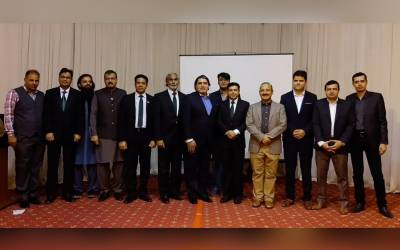 بزمِ ریاض کے زیرِ اہتمام سفارتخانہ پاکستان میں یومِ قائد کی تقریب