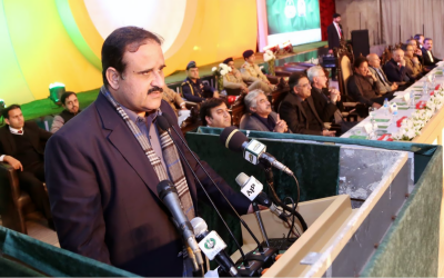 پنجاب معاشی ترقی کی دوڑ میں لیڈلے گا: عثمان بزدار