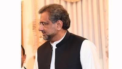 آرمی ایکٹ میں خامیوں کے معاملے پر حکومت کو جواب دینا چاہیے،شاہد خاقان عباسی