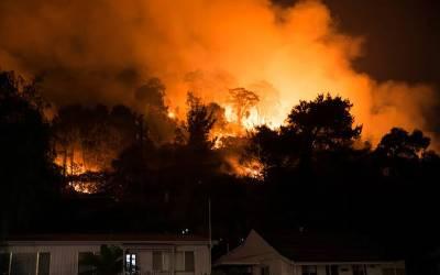 وہ لمحہ جب آسٹریلیا کے جنگلوں میں لگی خوفناک آگ بجھانے والے خوشی سے ناچنے لگے