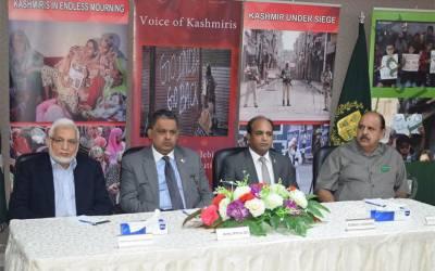 ساری دنیا میں پاکستانی عوام اور کشمیری عوام نے یوم حق خود ارادیت منا کر بھارتی ظلم و ستم اور بھارت کو ہٹ دھرمی کا آئینہ دکھایا
