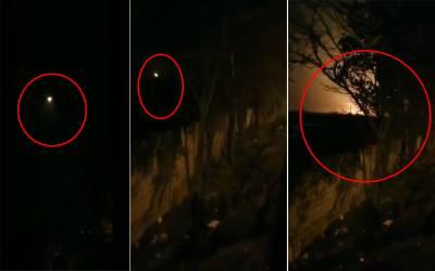 ایران میں گر کر تباہ ہونے والے مسافر طیارے کی ویڈیو سامنے آ گئی ، طیارے کو گرنے سے پہلے کیا ہوا ؟ جانئے