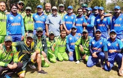 پاکستان نے کرکٹ کے میدان میں ایک مرتبہ پھر بھارت کو شکست دیدی