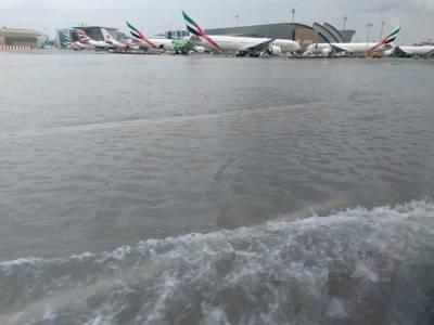 دبئی میں غیرمعمولی شدید بارش کی وجہ سے پی آئی کی پروازیں منسوخ