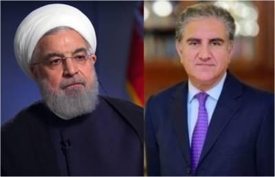 وزیر خارجہ شاہ محمود قریشی کی ایرانی صدر سے ملاقات ،پاکستان کا خطے میں کسی جنگ کاحصہ نہ بننے کا اعلان