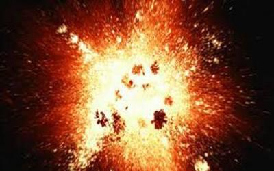 پشاور میں دھماکہ