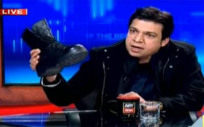 ٹی وی پروگرام میں فوجی بوٹ لانے پر وزیر اعظم نے کیا کہا؟ فیصل واوڈا نے خود ہی بتادیا