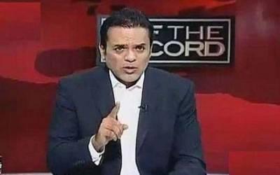 فیصل واوڈا کی جانب سے پروگرام میں بوٹ لانے پر صحافی کاشف عباسی کا موقف بھی سامنے آ گیا