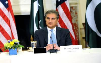 دورہ امریکا، وزیر خارجہ شاہ محمودقریشی واشنگٹن ڈی سی پہنچ گئے