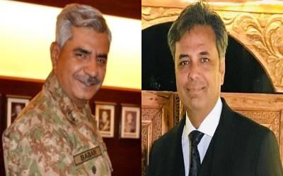 'آصف غفور نے آئی ایس پی آر کو غیر سنجیدہ مقاصد کے پیچھے لگایا ہوا تھا' طلعت حسین نے یہ کہا تو آگے سے نئے ڈی جی نے حیران کن جواب دے دیا