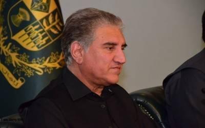 پاکستان کی کوششوں سے طالبان مذاکرات کی میز پر آئے ، وزیر خارجہ شاہ محمود قریشی