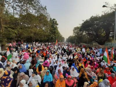 بھارت میں شہریت ترمیمی قانون کے خلاف ملک گیر احتجاج جاری