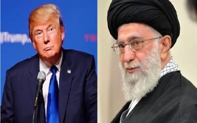 'آپ ایرانیوں کے دل میں خنجراتارنے کے لئے ساتھ کھڑے ہیں'ایرانی سپریم لیڈر خامنہ ای اور ٹرمپ ٹویٹر پرآمنے سامنے آگئے