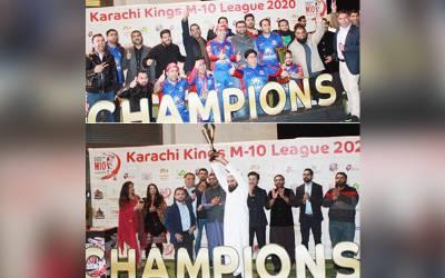 کراچی کنگز ایم 10، میمن پریمیئر کرکٹ لیگ کی اختتامی تقریب