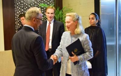 امریکی نائب معاون وزیر خارجہ کی 4روزہ دورے پر پاکستان آمد، سول وعسکری قیادت سے ملاقاتیں کریں گی