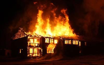 عاشق نے معشوقہ کے گھر کو آگ لگادی