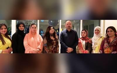 پاکستان پیپلز پارٹی گلف ، مڈل ایسٹ خواتین ونگ کی نو منتخب عھدیداران کی پہلی میٹنگ