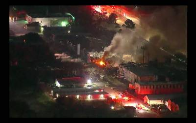 امریکی شہر ہوسٹن میں بڑا دھماکہ، آدھے میل کا علاقہ لرز اٹھا