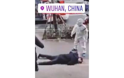چین کی سڑکوں پر لوگ بیمار ہوکر گرنے لگے، ڈراﺅنی فلموں کے مناظر حقیقت میں نظر آنے لگے