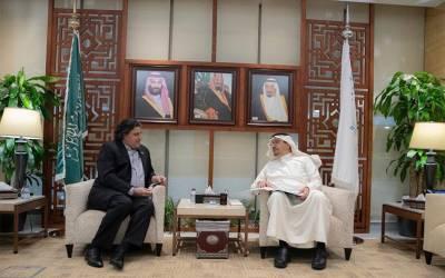 سفیر پاکستان کی سعودی وزیر تعلیم سے ملاقات