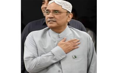 وزیراعلیٰ سندھ کی آصف علی زرداری سے ملاقات