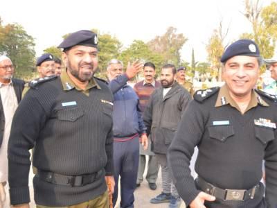 پاکستان بنگلہ دیش ٹیسٹ،لاہور کے بعد راولپنڈی پولیس نے بھی فول پروف سیکیورٹی انتظامات کے لئے کمرلس لی