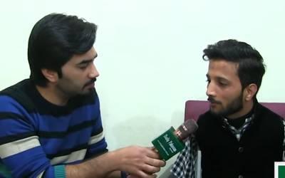 دونوں بازؤں سے محروم پاکستانی نوجوان جو ہر کام بازو والے لوگوں سے بہتر انداز میں کرتا ہے